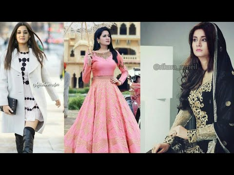 Aditi Rathore (avani) Of Naamkaran Khubsurati Ka Raj Designer 👗 Dress Collection Real Photos