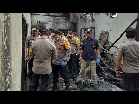 At Least 30 Killed In Makeshift Matchstick Factory In Indonesia