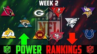NFL Week 2 Power Rankings 2020
