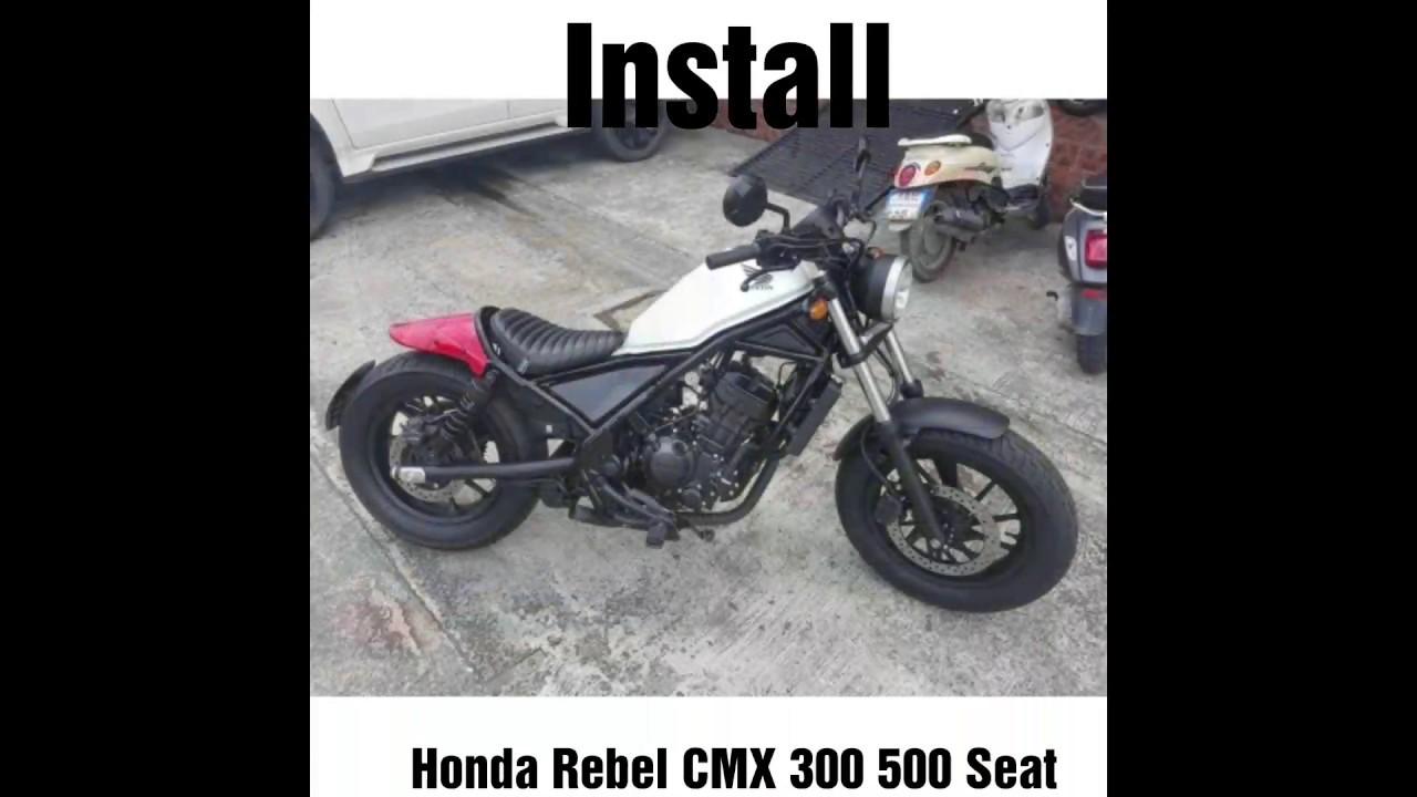 Honda Rebel CMX 300 500 Single Replacement Seat Motozaaa V2