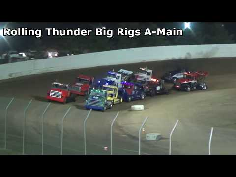 Grays Harbor Raceway, August 17, 2019, Rolling Thunder Big Rigs A-Main