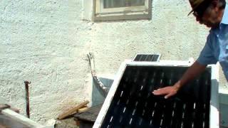 Solar Thermal Warmluft-Kollektor Komplett-Bauanleitung vom  ,,  Der Buchheimer ,,