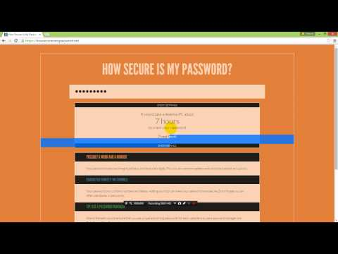 How long will it take for a hacker to hack into your account?