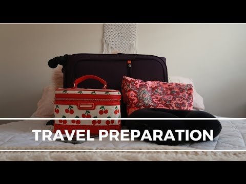 TRAVEL PREPARATION | PACK WITH ME, TRAVEL HACKS, CARRY ON ESSENTIALS