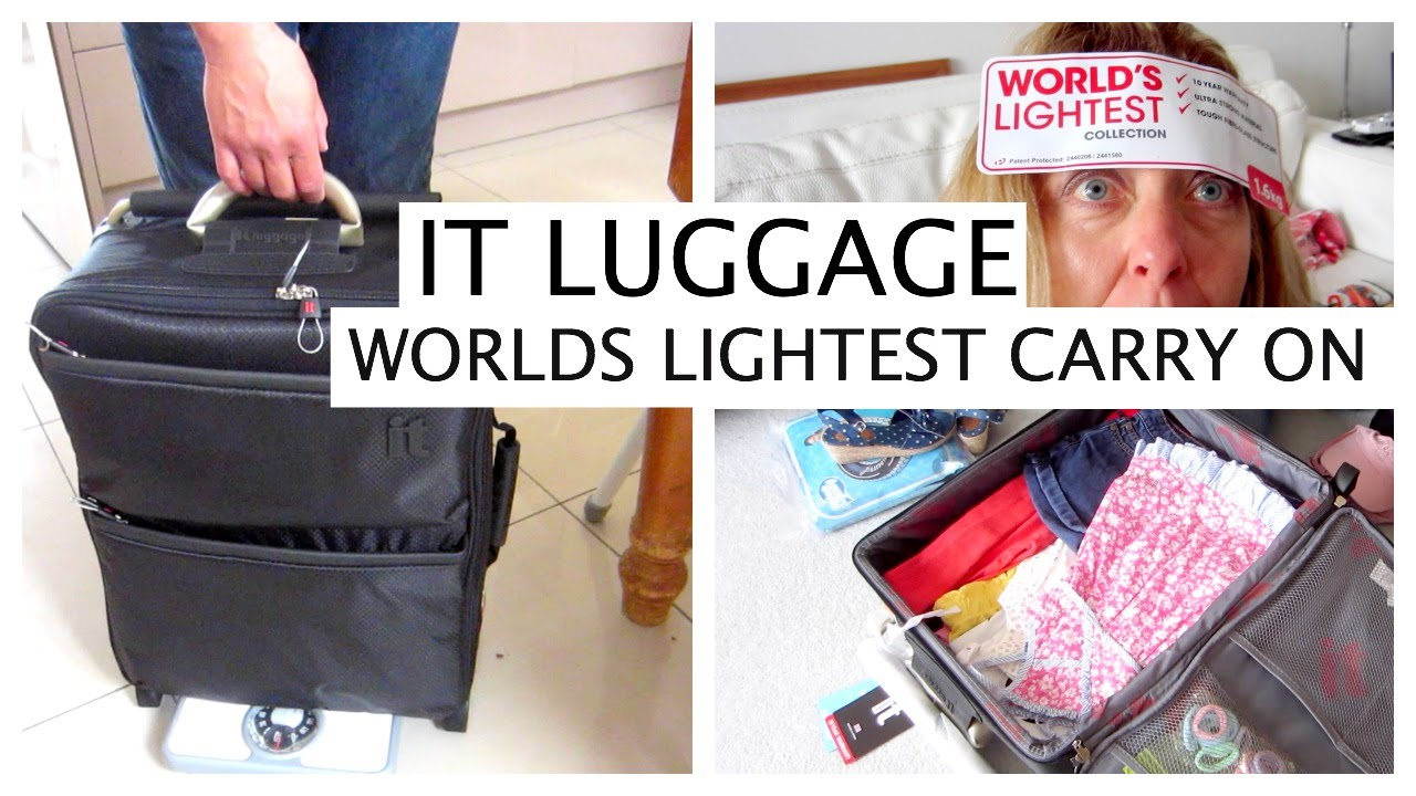WORLDS LIGHTEST CARRY ON CABIN BAG - LUGGAGE REVIEW ...