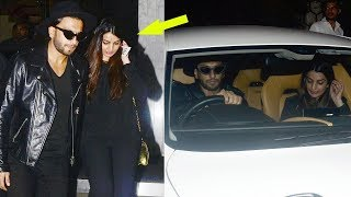 Ranveer Singh Spotted With His Sister Ritika At Arth Restaurant