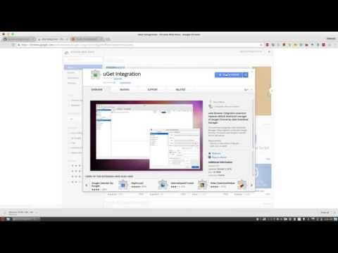Integrate UGet With Google Chrome