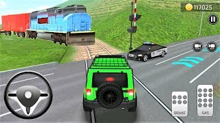Parking Frenzy 3D Simulator Cars SUV Jeep Green And Trains #31 - Best Android Gameplay
