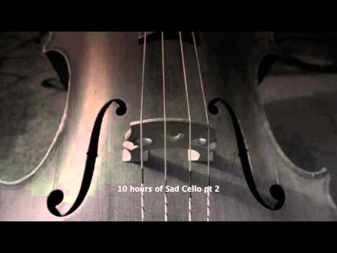 10 hours sad cello part 2 HD music for relaxation a rainy day tuned 432 hz