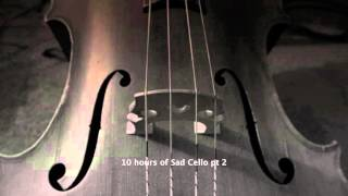 Repeat youtube video 10 hours sad cello part 2 HD music for relaxation a rainy day tuned 432 hz