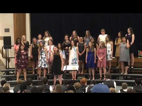 Frank Seale Middle School Spring Choir Solo by Leilani