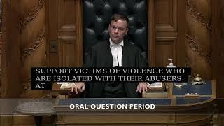 Question Period: COVID 19 response and domestic violence