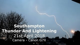 Southampton Thunder And Lightning April 2018 filmed with Canon GX7mp4
