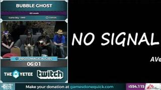 Bubble Ghost by Protomagicalgirl in 6:05 - SGDQ 2016 - Part 140
