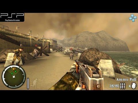 Medal Of Honor Heroes 2 - PSP Gameplay 4k 2160p (PPSSPP)