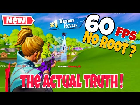 Fortnite Android 60 Fps   No Root   The Actual Truth !
