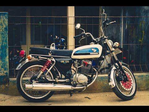 Honda CB 100 1973 Running (本�0cc)