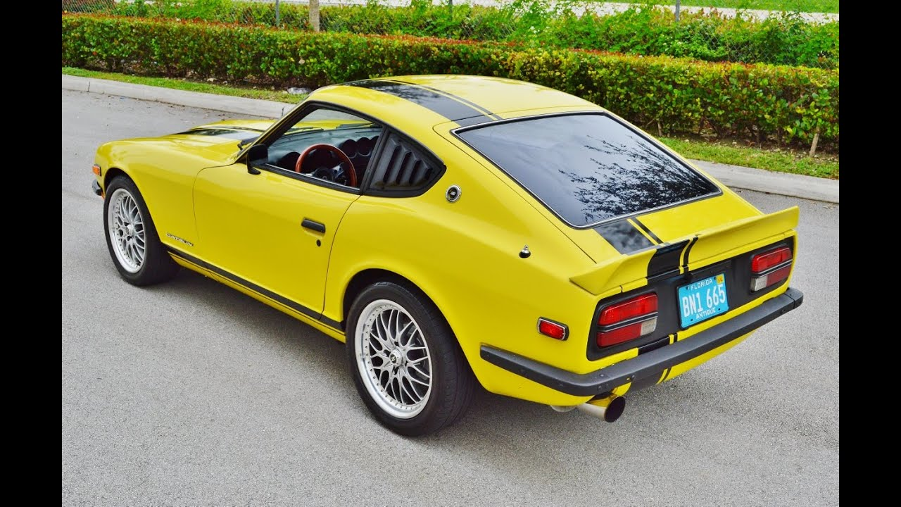 1971 datsun nissan 240z hls30 series 1 z car factory a c for sale 305 988 3092 youtube. Black Bedroom Furniture Sets. Home Design Ideas