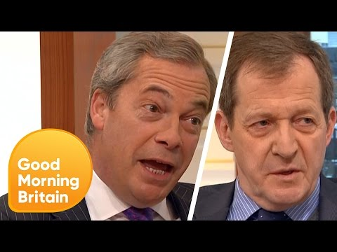 Nigel Farage and Alastair Campbell Face Off as Brexit Nears | Good Morning Britain