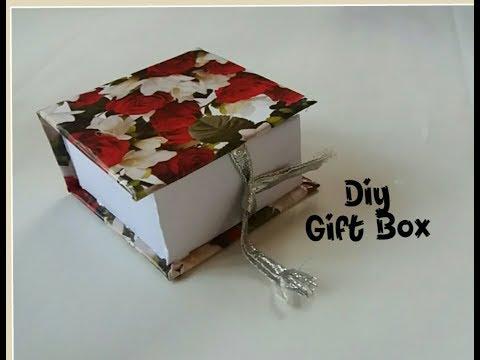 Diy Gift Box | Gift Box making at home | Handmade gift ideas | Paper crafts | cardboard crafts