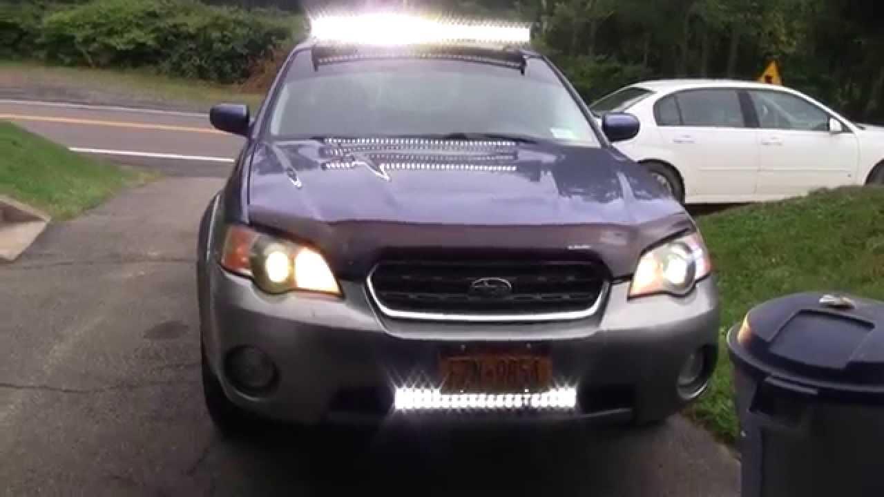 Led Light Bar Car