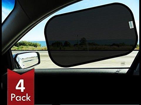 Kinder Fluff Car Sun Shade - 4px - Transparent Sunshades Review