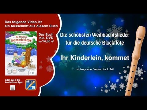♬-ihr-kinderlein,-kommet-☆-deutsche-blockflöte-☆-weihnachtslieder-☆