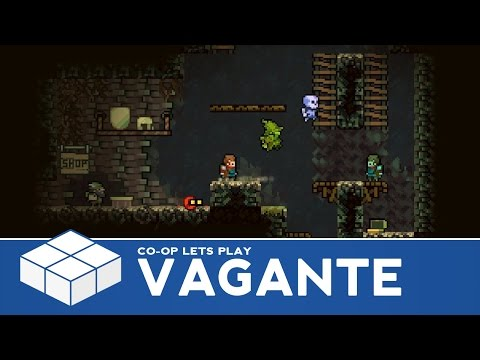 Vagante - 4 Player Co-Op Gameplay