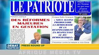 DEBAT PANAFRICAIN PREMIERE PARTIE DU 24 11 2019