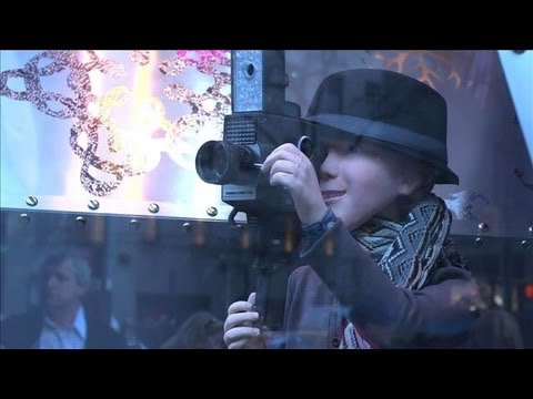 How Saks Dresses Up Its Windows for the Holidays