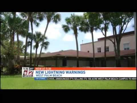 Jupiter Christian School Receives Lightning Detection Equipment