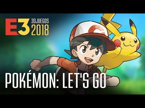 Pokémon: Let's Go, Pikachu!, PokéBall y Nintendo Switch en el E3 thumbnail