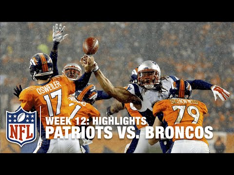 Patriots vs. Broncos | Week 12 Highlights | NFL