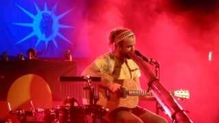 Xavier Rudd - Fortune Teller - live Backstage Werk Munich 2013-06-17
