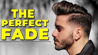 HOW TO GET THE PERFECT FADE   My Current Haircut & Hairstyle 2018   ALEX COSTA