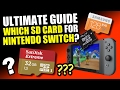 Nintendo Switch - ULTIMATE Guide, Which SD Card to Get