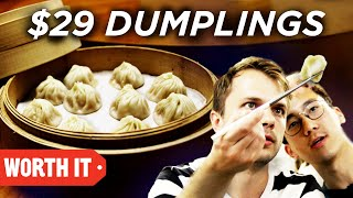 $0.50 Dumpling Vs. $29 Dumplings  Worth It Goes To Taiwan