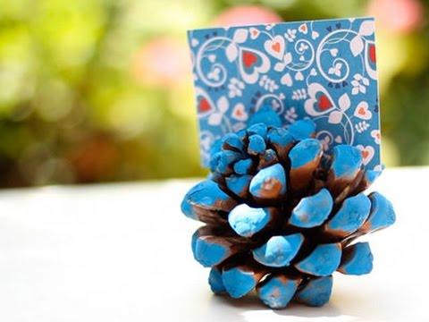 Manualidades de navidad decora tu mesa con pi as youtube - Manualidades navidad con pinas ...
