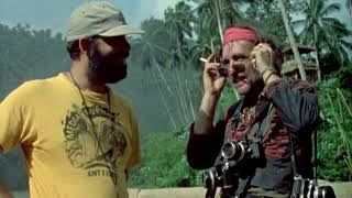 Stoned Dennis Hopper on the set of Apocalypse Now