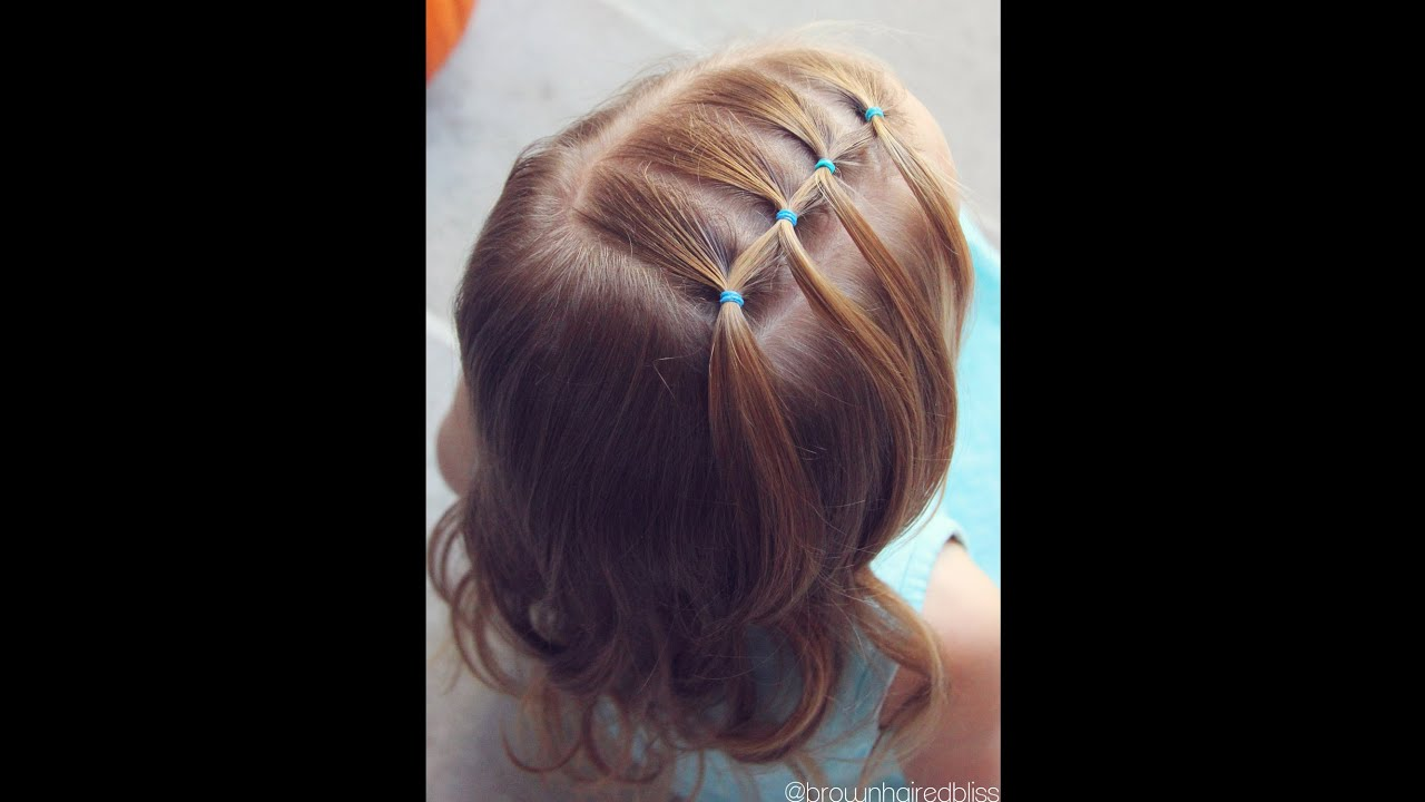 Toddler Hair Style: Toddler Hairstyle Tutorial