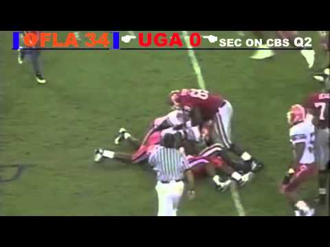 1996 #1 Florida Gators Vs. Georgia Bulldogs