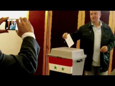 Prague: Syrian expats vote in presidential election 5