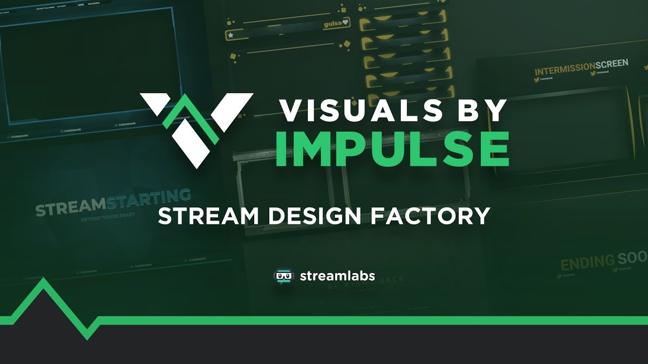 Get started with amazing overlays for your streams with Stream Design  Factory on Streamlabs OBS