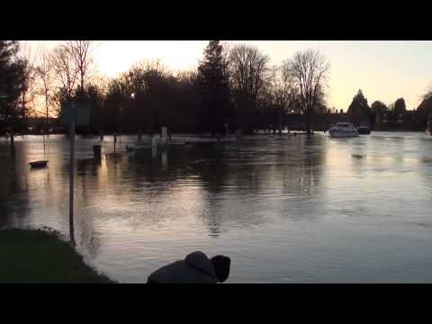 Abingdon Floods 2014 River Thames