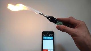 Газовая горелка - паяльник(Покупал горелку здесь: http://ali.pub/2ijgr ➤ Скидки до 20% при заказах в Интернет магазинах: https://goo.gl/z5puK9 - Колонка..., 2015-01-14T15:33:08.000Z)