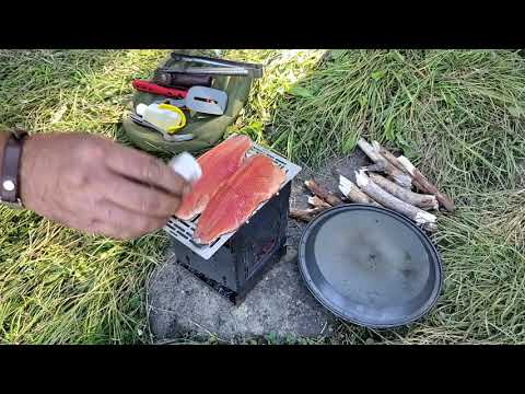Pack Goat Hiking, Camping, Fishing & Firebox Stove Cooking W