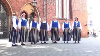 00048 Vokālo ansambļu ielu koncerts Doma laukumā 7.07.2018