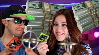 $10,000 Gyroscope Tricks and Physics Stunts Challenge