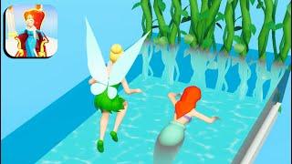 Princess Run 3D 👸🧜♀️🧚 All Levels Gameplay Android,ios screenshot 3