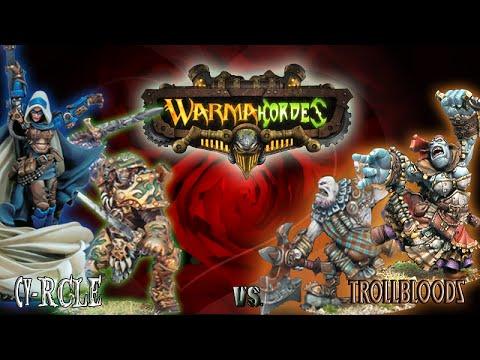 Mk2 Warmachine & Hordes - LOVE MACHINE - Cygnar & Circle vs.Trollbloods - 50pt Battle Report